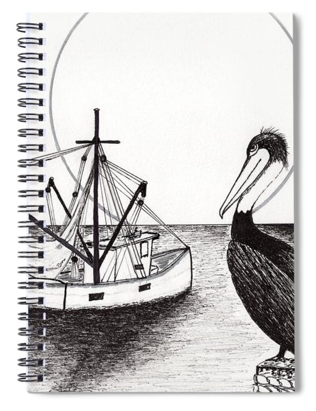 Pelican Fishing Paradise C1 Spiral Notebook