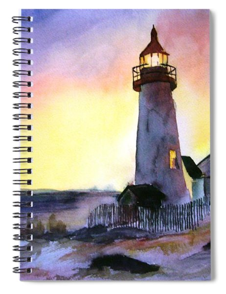 Pemaquid Point Lighthouse Maine Spiral Notebook