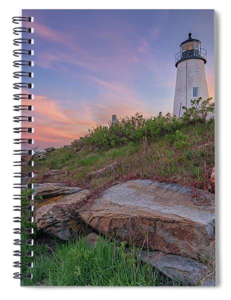 Pemaquid Point Sunset Spiral Notebook