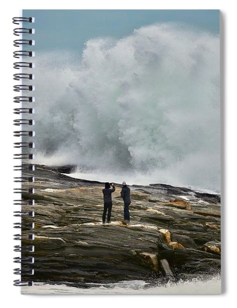 Pemaquid Surf Spiral Notebook