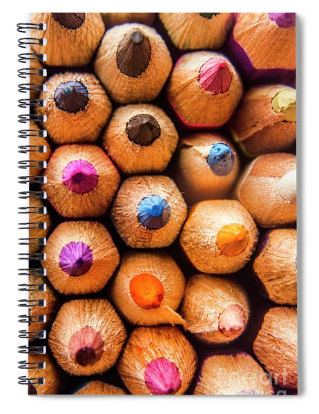 Pencil Pointers Spiral Notebook