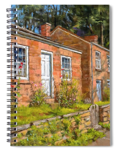 Pendarvis House Spiral Notebook