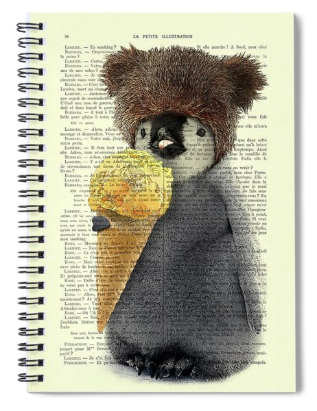 Penguin Ice Cream Spiral Notebook