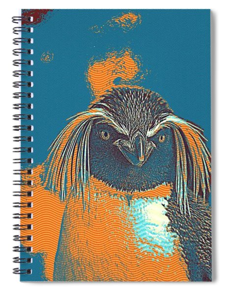 Penguin Rockhopper Spiral Notebook