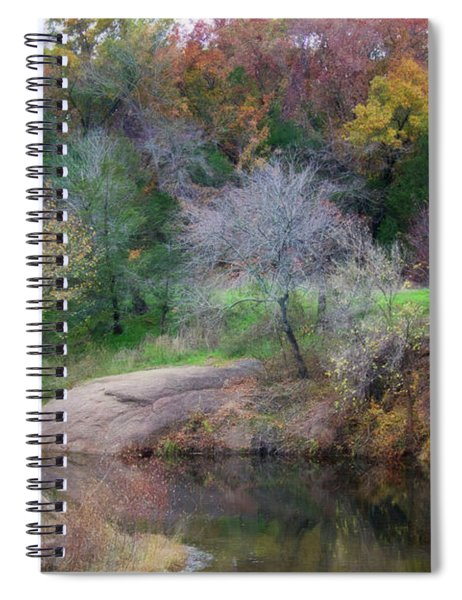 Pennington Creek In The Fall Spiral Notebook