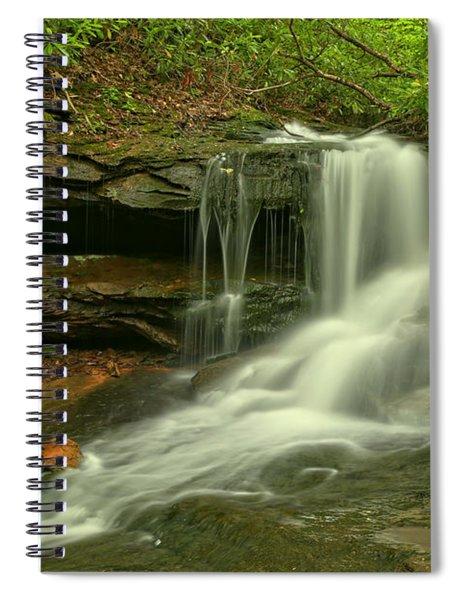 Pennsylvania Cave Falls Spiral Notebook