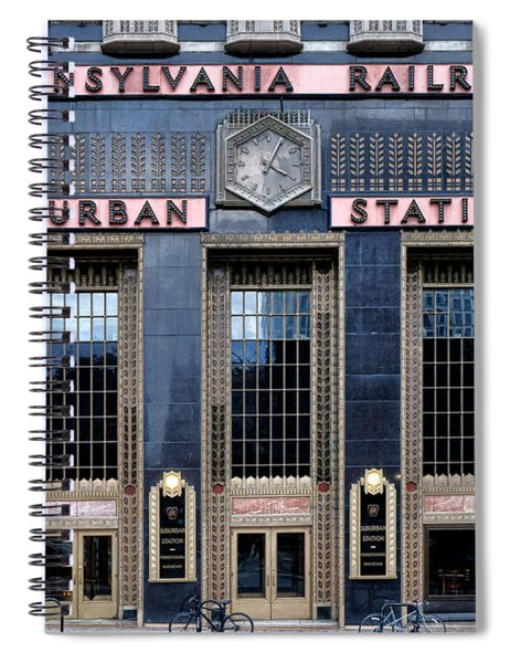 Pennsylvania Railroad Suburban Station Spiral Notebook