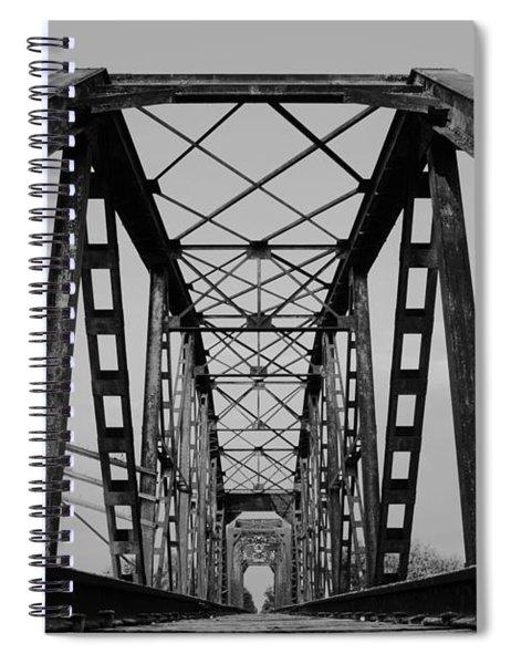 Pennsylvania Steel Co. Railroad Bridge Spiral Notebook