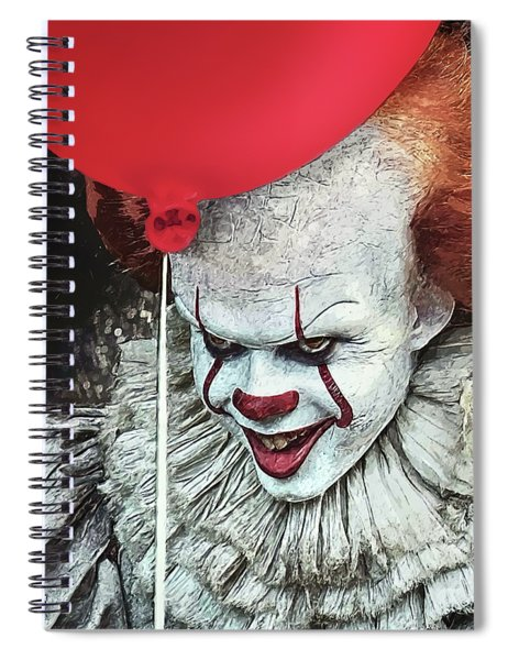 Pennywise Spiral Notebook