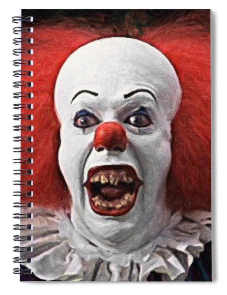 Pennywise The Clown Spiral Notebook