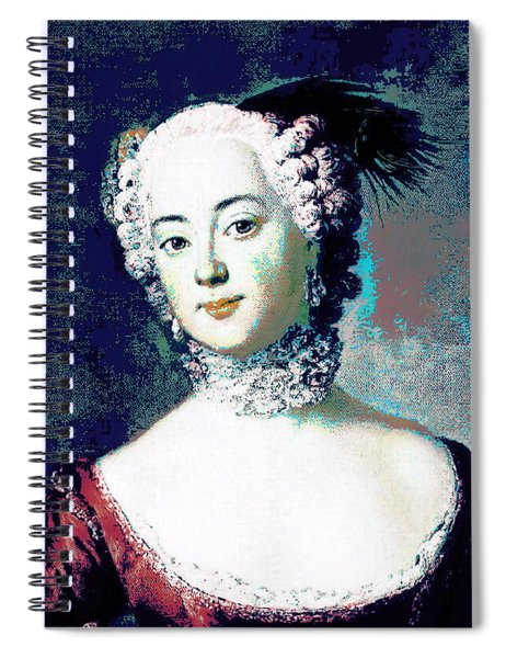 Eleonore Blue Spiral Notebook