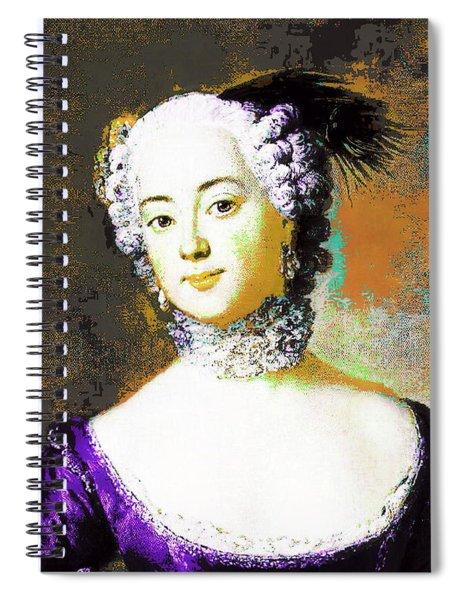Eleonore Orange Spiral Notebook