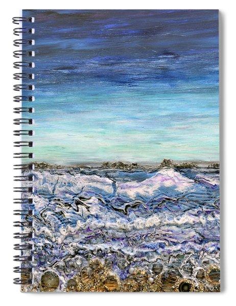Pensive Waters Spiral Notebook