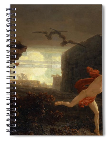 Pentheus Pursued By The Maenads Spiral Notebook