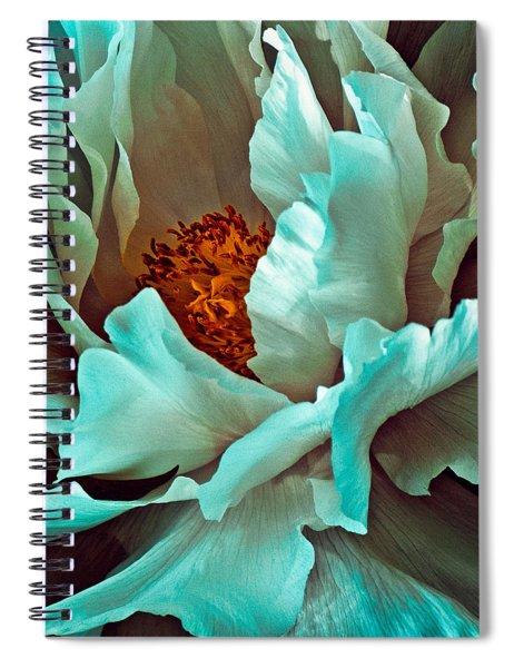 Peony Flower Spiral Notebook