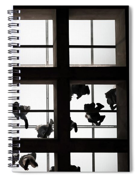 People Above The Glass Ceiling Spiral Notebook