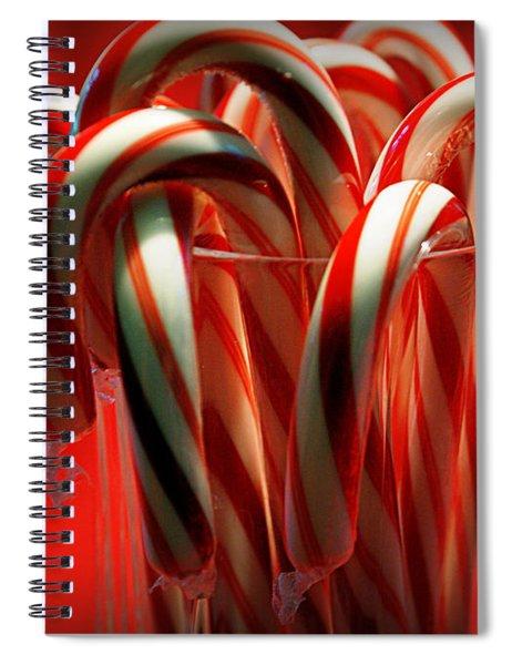 Peppermint Jumble Spiral Notebook