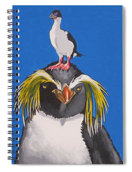 Percy The Penguin Spiral Notebook