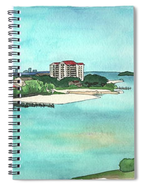 Perdido Key River Spiral Notebook