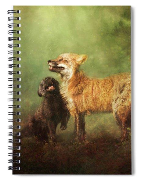 Perfect Bliss Spiral Notebook