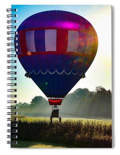 Perfect Landing Spiral Notebook