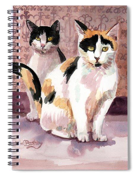 Perla And Sparks Spiral Notebook