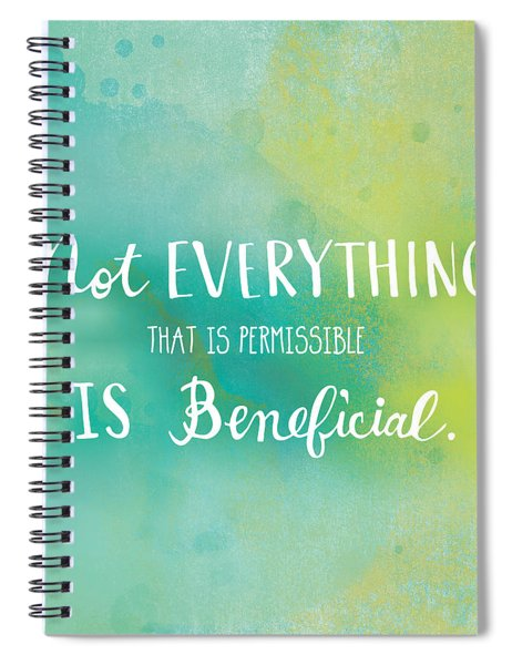 Permissible Spiral Notebook