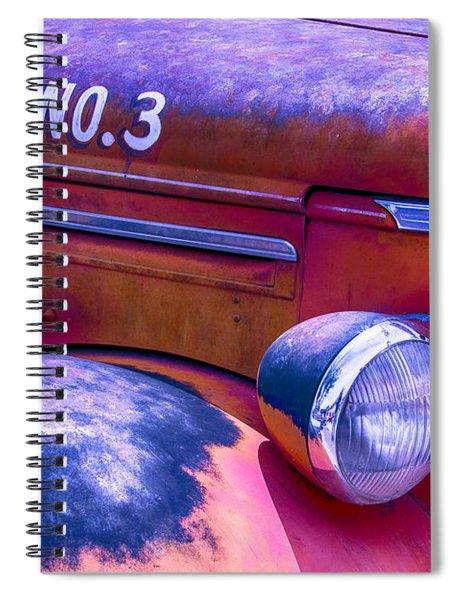 Permit No 3 Spiral Notebook