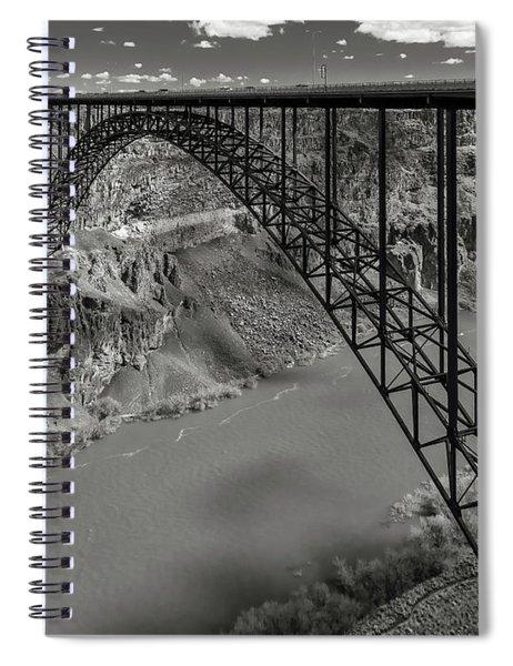 Perrine Bridge, Twin Falls, Idaho Spiral Notebook