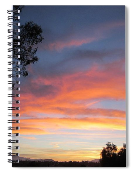 Sunrise Overall  America A Christian Nation   Spiral Notebook
