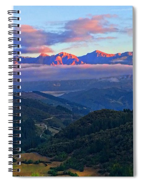 Perrozo Morning Spiral Notebook
