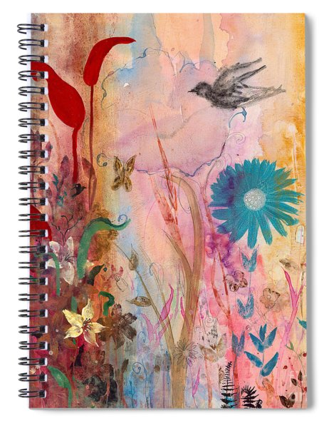 Persephone's Splendor Spiral Notebook