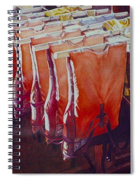 Personal Flotation #1 Spiral Notebook