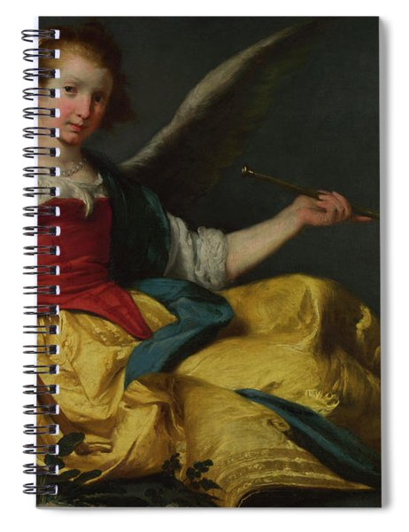 Personification Of Fame Spiral Notebook