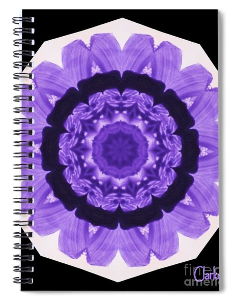 Petal Wheel Spiral Notebook