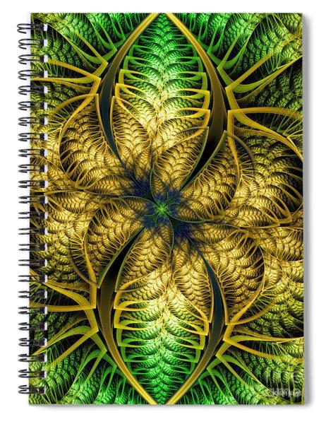 Petals Of Life Spiral Notebook