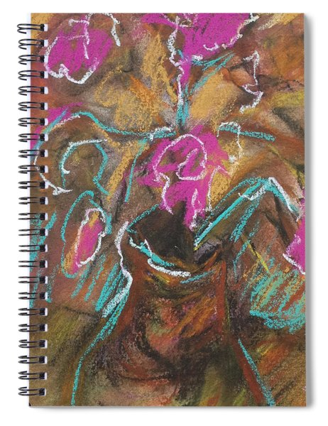 Petals Of Pink Spiral Notebook