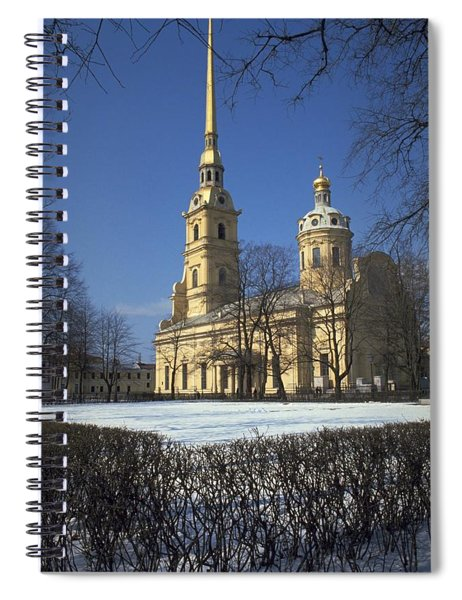 Peter And Paul Cathedral Spiral Notebook