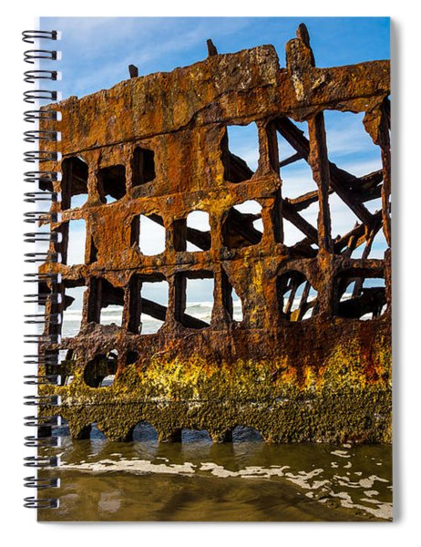 Peter Iredale Shipwreck - Oregon Coast Spiral Notebook