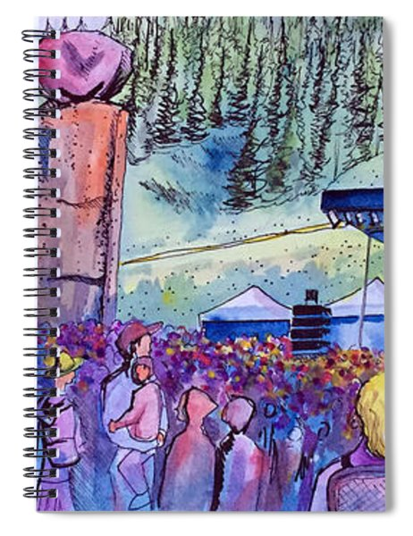 Peter Rowen At Copper Mountain Spiral Notebook