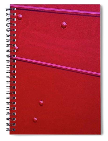 Peterbuilt Hood And Lamps Spiral Notebook