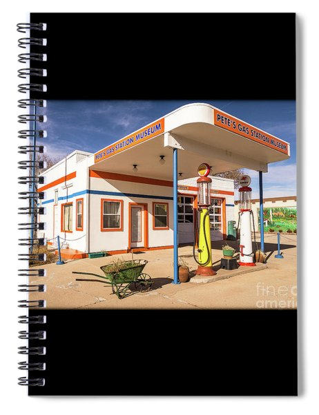 Pete's Gas Station Spiral Notebook