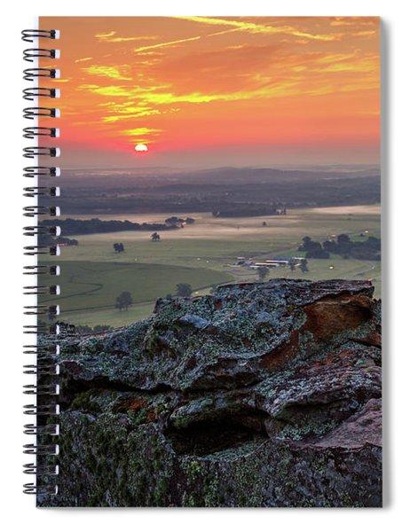 Petit Jean Sunrise Spiral Notebook