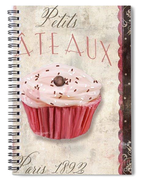 Petits Gateaux Spiral Notebook