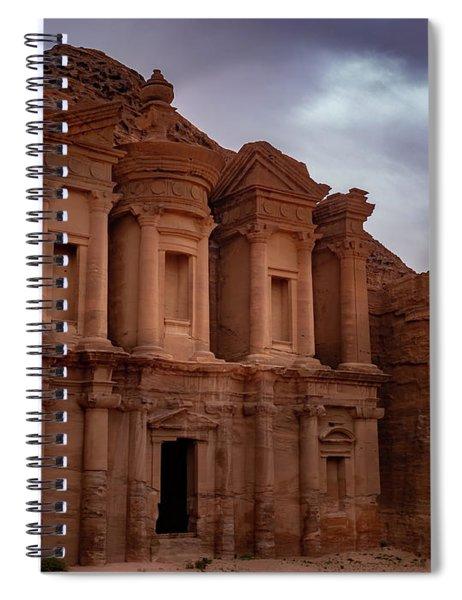 Petra's Monastery Spiral Notebook