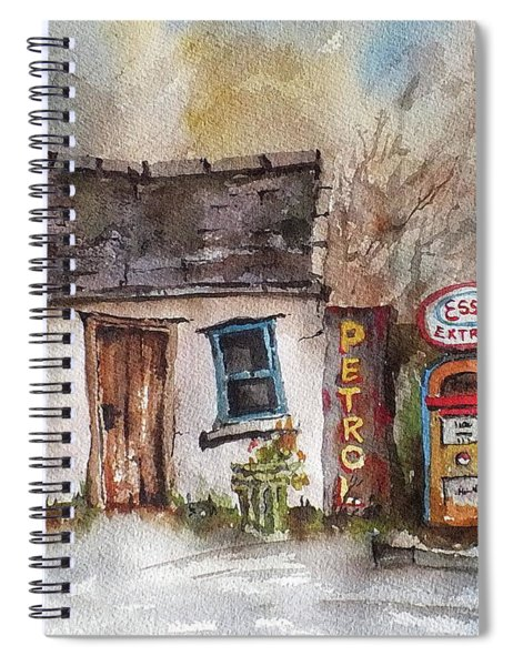 F 703  Petrol And Gasoline.. Spiral Notebook