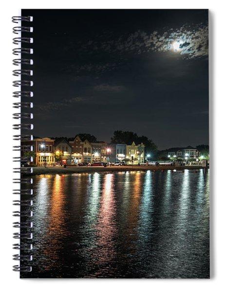 Pewaukee At Night Spiral Notebook
