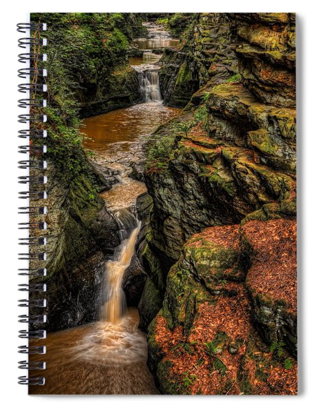 Pewits Nest Three Waterfalls Spiral Notebook