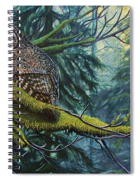 Phantom Of The North Spiral Notebook