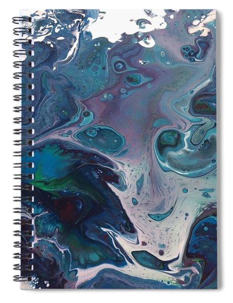 Phantom Of The Sea Spiral Notebook